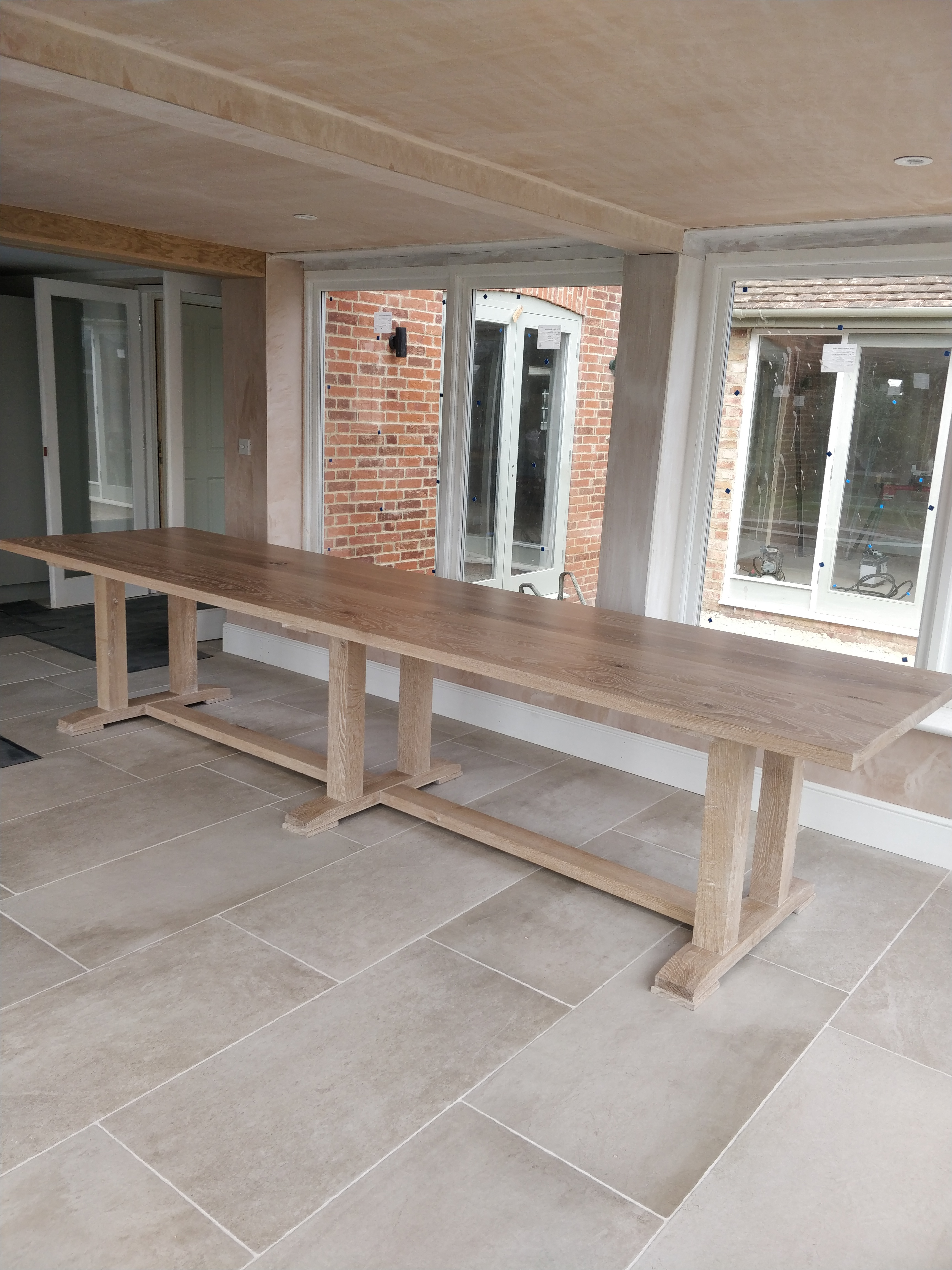 Limed Oak Table